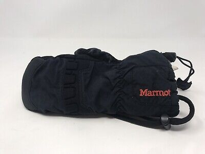 Marmot Kids Winter Insulated Gloves Fleece Lined Gloves Black Size (Marmot Insulated Gloves)