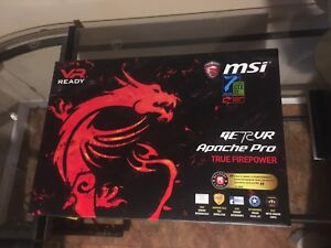 *ALMOST BRANDNEW* MSI GE72VR Apache Pro - High End Gaming Laptop