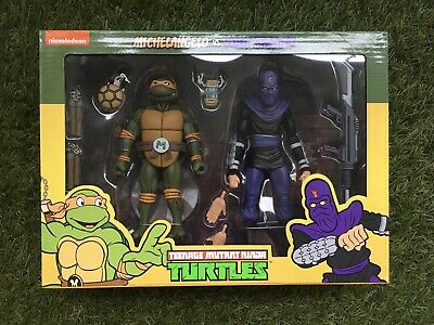 NECA Teenage Mutant Ninja Turtles Doppelpack Michelangelo vs. - Teenager Ninja Ninja Turtles