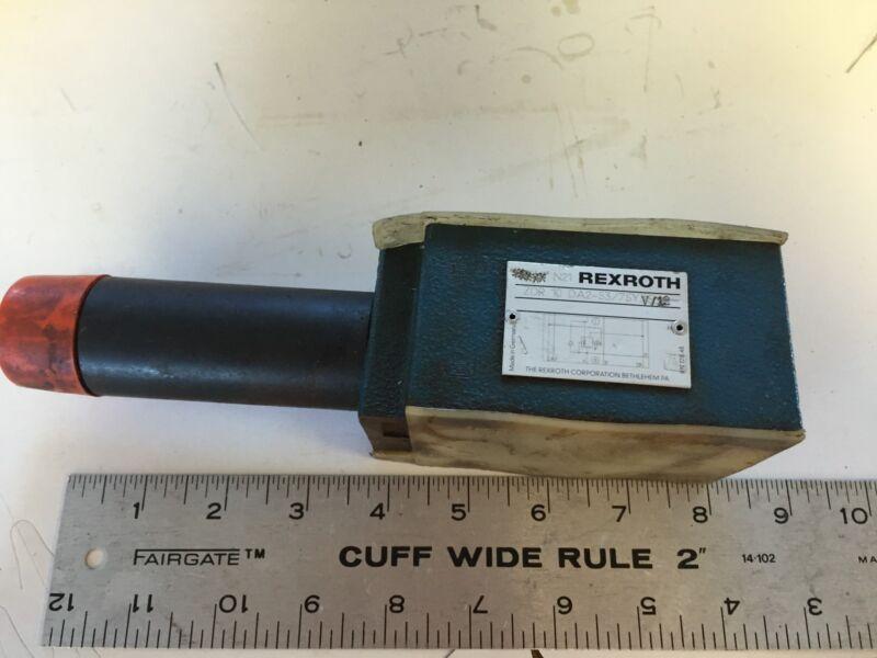 NEW OLD REXROTH ZDR 10 DA2-53/75Y V/12 HYDRAULIC PRESSURE REDUCING VALVE,BOXZA