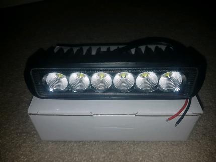 2x 6 inch LED light bar