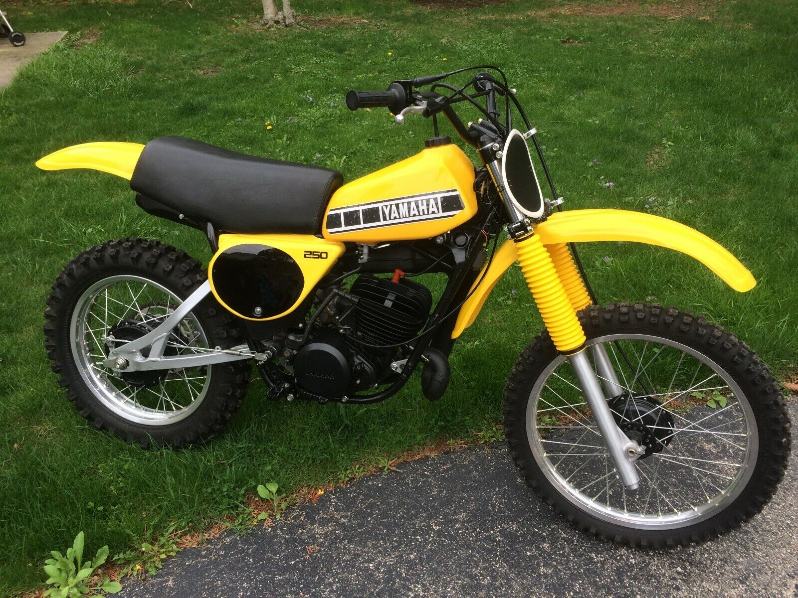 Picture of A 1978 Yamaha YZ 250