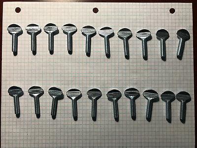 Thumb Screws Zinc Plated Steel 14 - 20 X 1 Quantity 20