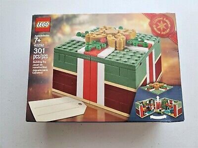 LEGO Buildable Christmas Gift Box 40292 NEW Limited Seasonal