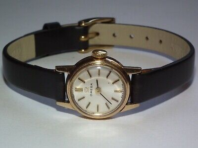 Stunning, Vintage 1969 SOLID 9ct GOLD OMEGA Wristwatch, Full Working Order
