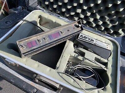 Police Radar Unit K55x Mph With Case