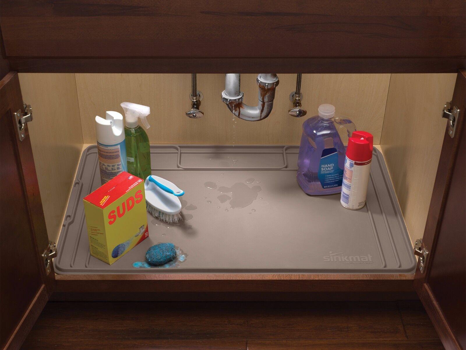 WeatherTech SinkMat - Spill-Proof Under Sink Mat - Holds 1 Gallon - USA