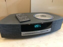 Bose Wave Music System AWRCC1 CD Player AM/FM Radio Stereo Alarm Clock & Remote