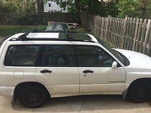 2001 Subaru Forester - parts