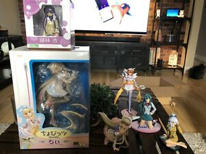 Anime figure chobits, clannad, full metal