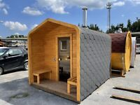 Cubic-Sauna300cm mit Terrasse sofort verfügbar Sauna mit Holzofen Brandenburg - Wandlitz Vorschau