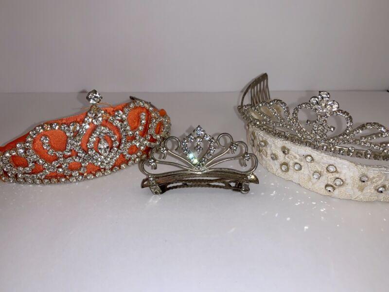 Tiara Crown BUNDLE!  For Irish Dance Or Other!