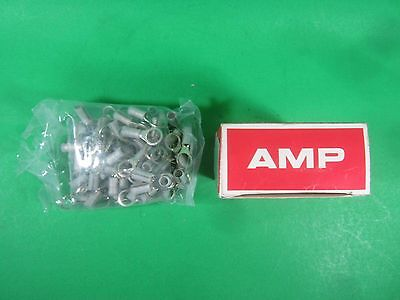 Amp Electrical Terminal Ring Connector -- 53966-1 -- Lot Of 100 New