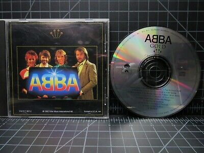 Abba -  Gold Greatest Hits - 1992 Dance Disco CD with 19 Tracks