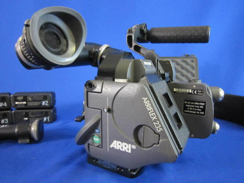 ARRI Arriflex 235 w/ IVS Video Asssist - 4Batteries/Charger - Used