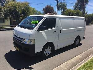 Toyota Hiace LWB 2008 Automatic, Turbo Diesel, only 111,924kms!!! Lidcombe Auburn Area Preview