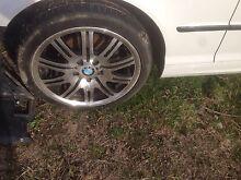 BMW slloys Margate Kingborough Area Preview