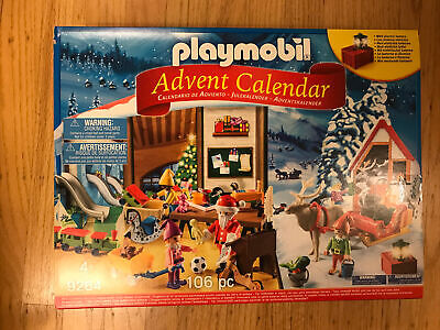 Playmobil Advent Calendar Santa's Workshop with Electric Lantern 106 pc Sealed
