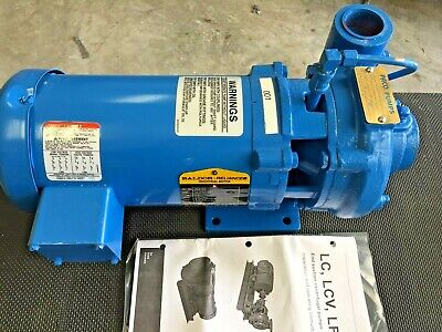Paco Pump Cat 10-12501-700061-1501 With 1.5 Hp Motor Size 33 Gpm 67 Tdh