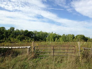 Beautiful 5 Acre lot with woods and field by Trent River