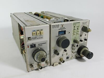 Tektronix 7l13 Spectrum Analyzer 1khz-1.8ghz Plug-in Module Untested