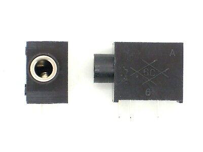 2x Klinkenbuchse 3,5mm Stereo (Kopfhörerbuchse,Einbaubuchse,Klinke,Kopfhörer)