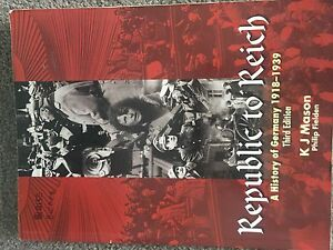 Republic to Reich - History text book HSC Drummoyne Canada Bay Area Preview