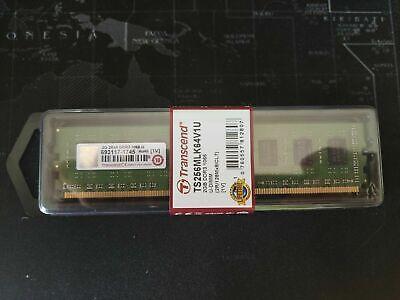 MEMORIA RAM NUOVA BLISTER Transcend 2GB+2GB 4GB DDR3 PC3-8500 1066MHZ 240 PIN