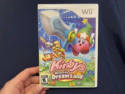 CIB Kirby's Return to Dream Land (Nintendo Wii, 2011)