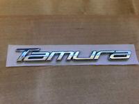 Genuine Mazda /'TS/' Chrome Boot Badge Emblem Width: 50mm