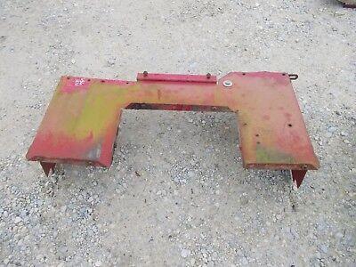 Farmall Ihc 656 Rc High Utility Tractor Original Ih Rear Cover Panel