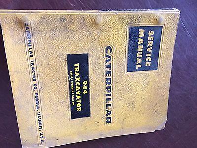 Caterpillar Cat Crawler 944 Traxcavator Loader Service Manual 58a