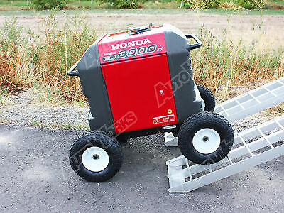 Honda Generator Wheel Kit Eu3000is - Solid Never Flat Tires - All Terrain