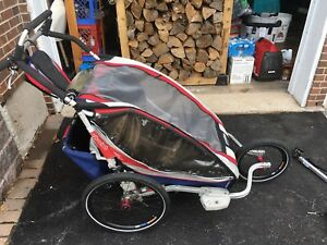 Chariot Bike Trailer / Stroller for one or two kids