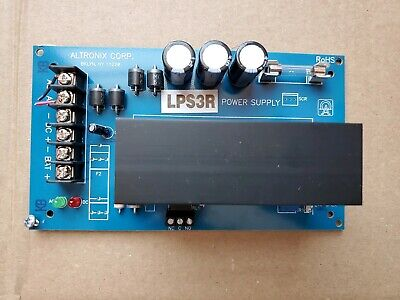 Altronix Power Supply Lps3r Exc Cond