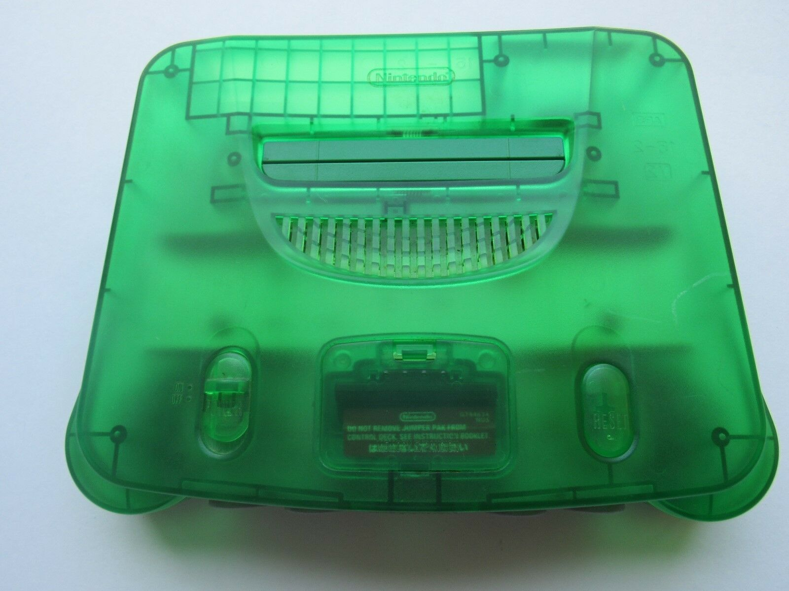 *GOOD* Nintendo 64 N64 Video Game Console Selection Funtastic Pokemon Gold PICK! Jungle Green *Console &  Jumper Pack*