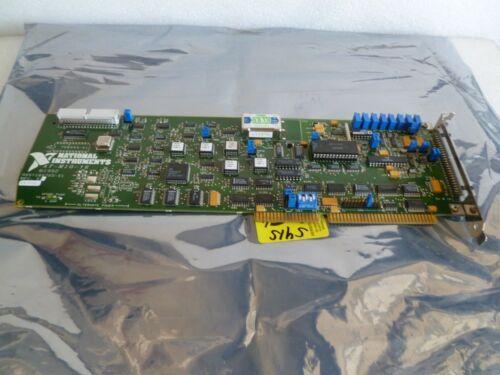National Instruments AT-MIO-16 ISA Bus Multifunction Analog Digital I/O Card