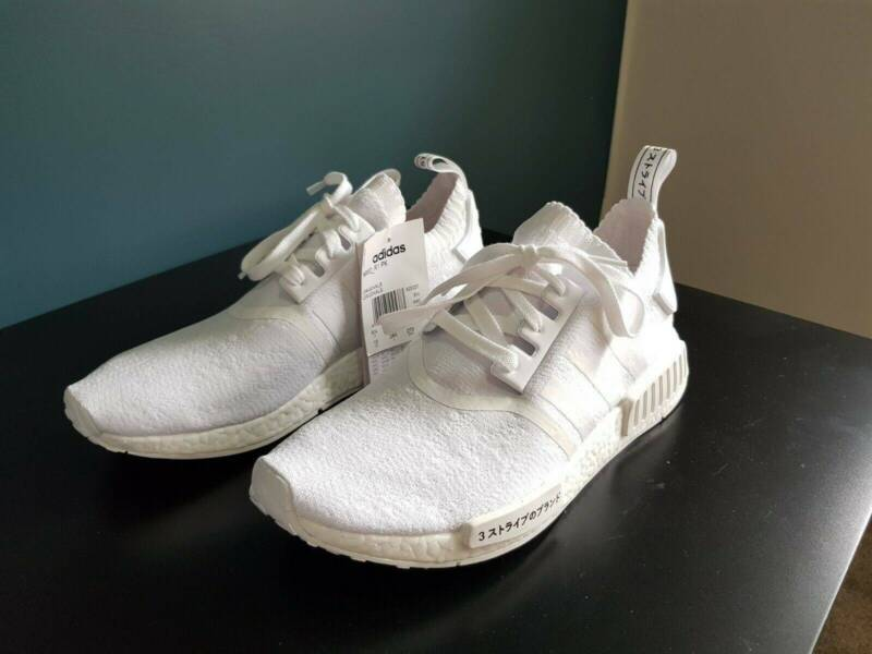 Adidas Nmd R1 Japan Boost Triple White Brand New Men S