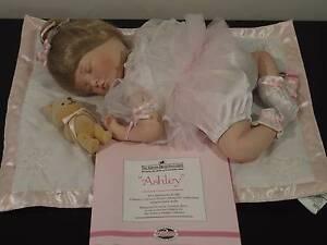 ASHTON DRAKE DOLL - BABY GIRL ON RUG Springfield Lakes Ipswich City Preview