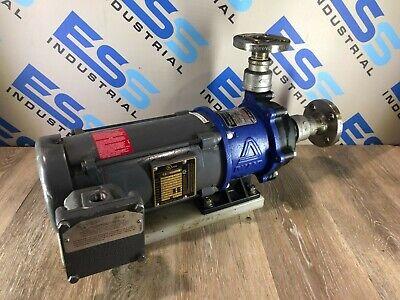 Iwaki Walchem Magnet Pump Mdh-400ce7-d W Baldor Electric Motor