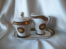 4-PIECE BREAKFAST SET WITH SUGAR BOWL CREAM JUG ON SMALL TRAY Palm Beach Gold Coast South Preview