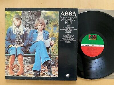 ABBA GREATEST HITS ORIGINAL VINTAGE 1976 VINYL GATEFOLD COVER NM LP