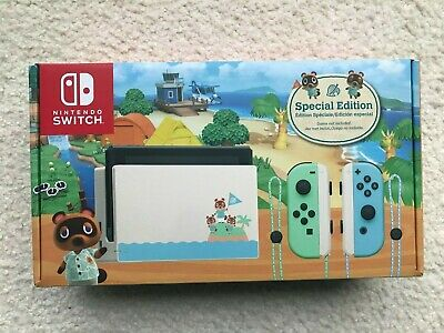 Brand New Nintendo Switch - Animal Crossing: New Horizons Special Edition
