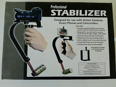 DSLR - GO PRO Professional STABILIZER for sale  Shipping to United States