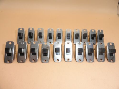 SLIDE SWITCHES ON - OFF SOLDER TERMINAL 4 AMP 125VAC (LOT OF 20)