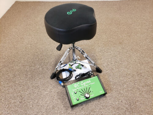 Porter & Davies BC Gigster Tactile Drum Throne, Saddle Top, Hydraulic Base