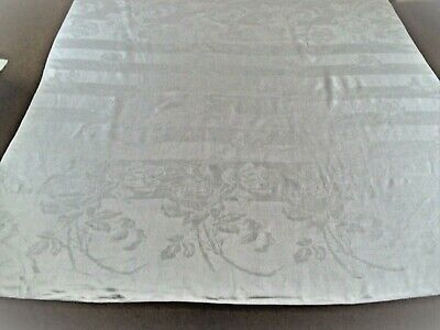 Extra Large Vintage Linen Storage Bag with Tulips