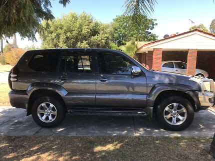 Toyota prado Parkwood Canning Area Preview