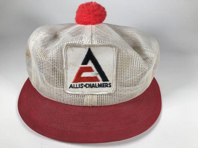Vintage Louisville MFG Allis Chalmers Patch Hat