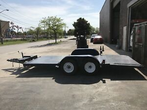 16' Flat Deck Float Trailer